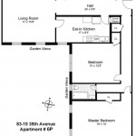 83-10 35th Avenue, jackson heights, co-op, floorplan