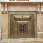 455 37th Street Fireplace Detail