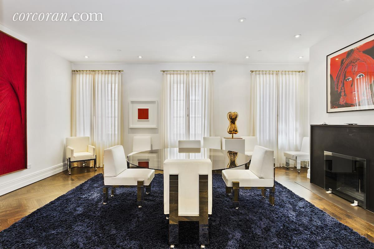 3 East 95th Street, Carhart Mansion, Tamara Mellon, dining room,