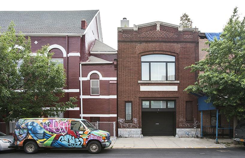 TBD Design Studio, Brooklyn firehouse, converted firehouse, live/work house