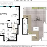 303 Mercer Street Floorplan