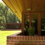 James B. Christie House, Frank Lloyd Wright, Usonian house, Bernardsville NJ