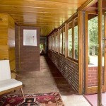 James B. Christie House, Frank Lloyd Wright, Usonian house, Bernardsville NJ