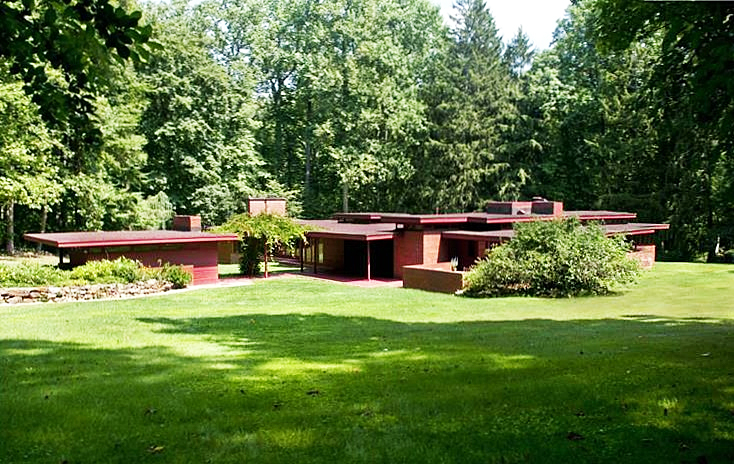 New Jersey's Oldest and Largest Frank Lloyd Wright House