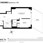 16 West 16th Street floorplan