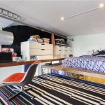 689 Myrtle Avenue, lofted bedroom