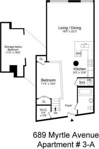 689 Myrtle Avenue, floorplan