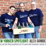 Brooklyn Seltzer Boys, Alex Gomberg, seltzer companies, seltzer delivery