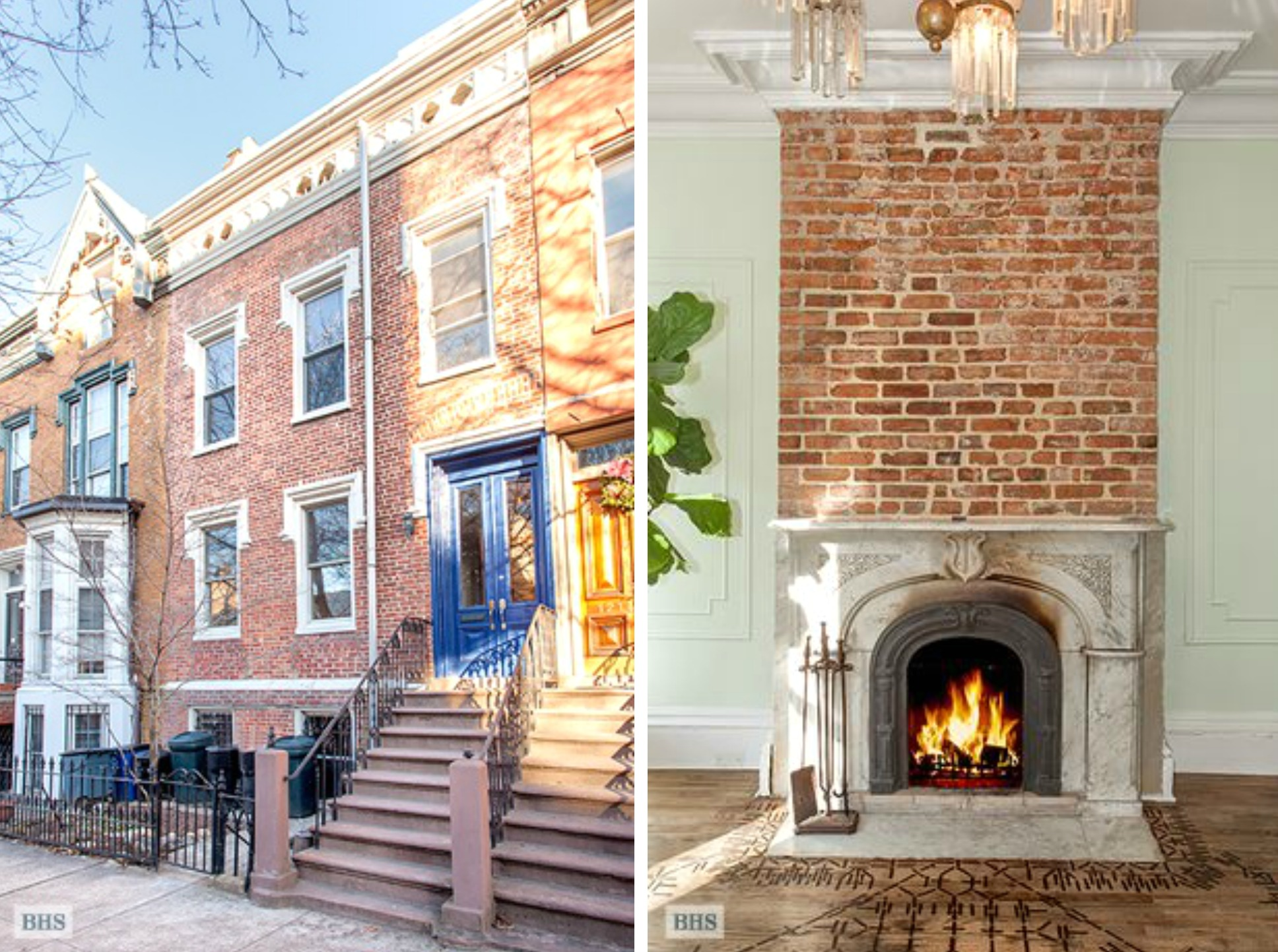 actress lake bell lists clinton hill townhouse for double what she