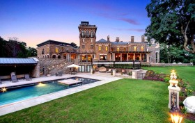 450 Claremont Road, Stronghold Castle, New Jersey, pool