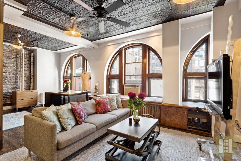 This $1.2M Chelsea Loft Has Great Architectural Details and a Bonus ...