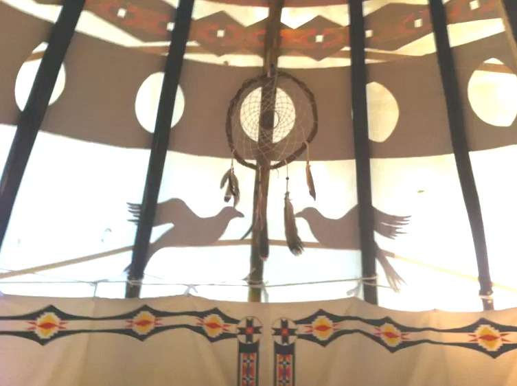 Sioux Tipi-Woodstock-3