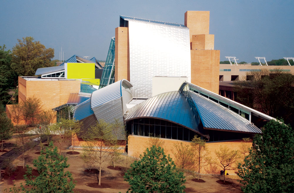 princeton science library by frank gehry