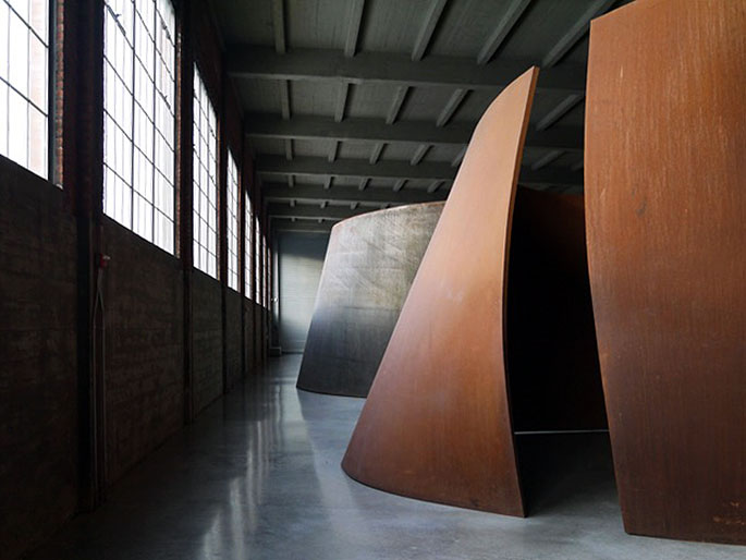 richard serra at dia beacon