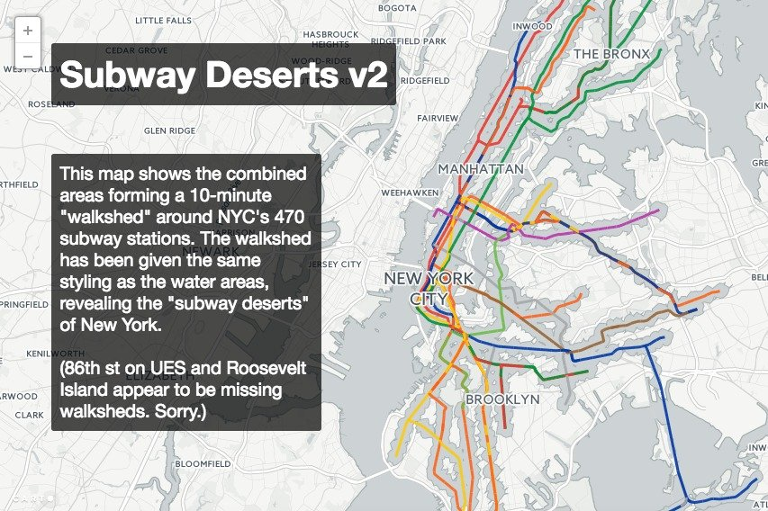 Interactive Mta Subway Map.Interactive Map Shows Massive Subway Deserts In Underserved Hoods