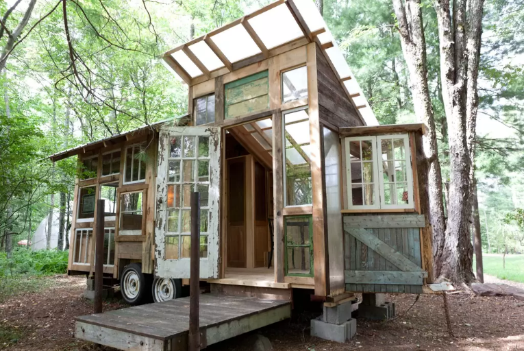 127 Square Foot Tiny House in the Catskills Fits Three for 125