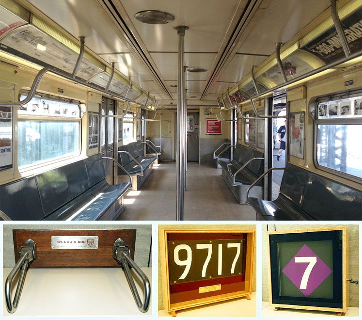 buy old subway seats signs tokens and more from the mta 6sqft. Black Bedroom Furniture Sets. Home Design Ideas
