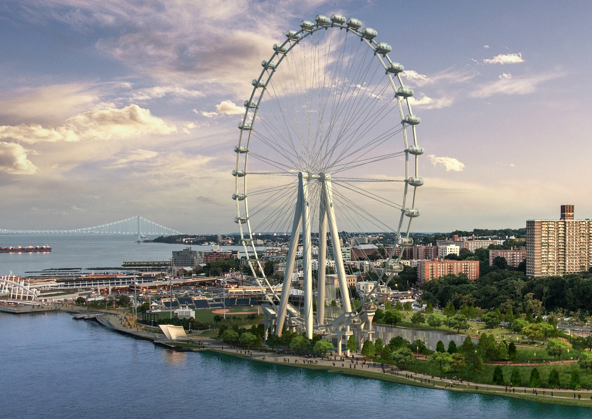New York Wheel construction grinds to a halt after designer walks off the job