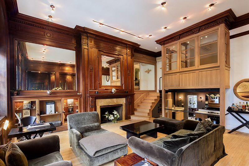 35 East 68th Street, Upper East Side, Co-ops, Manhattan co-op for sale, Historic Homes, UES, Duplex, Tiffany windows, cool listings