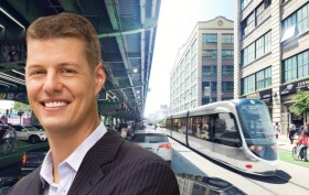 Adam Giambrone, Brooklyn-Queens streetcar, Toronto politicians, NYC transit projects