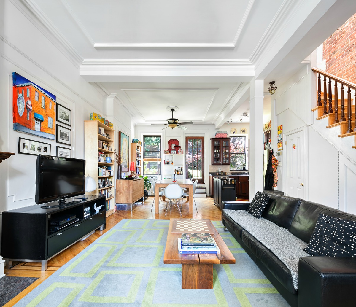 Find A Duplex For Rent: This $4,750/Month Park Slope Townhouse Duplex Feels Like A