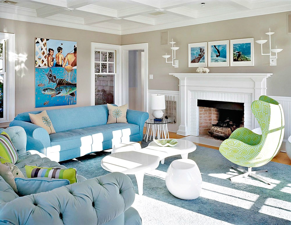 This Montauk Beach House by Ghislaine Viñas Could Be in Malibu or ...