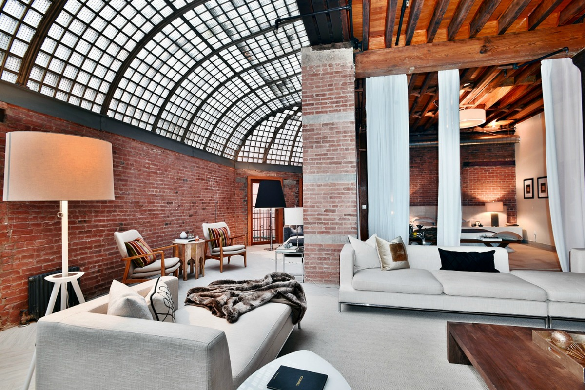 4 5m Industrial Tribeca Loft Is Both Cavernous And Airy
