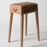 Juno Jeon, responsive design, Pull me to life, the Netherlands, Korean designer, humorous objects, alive furniture, responsive design, wooden scales