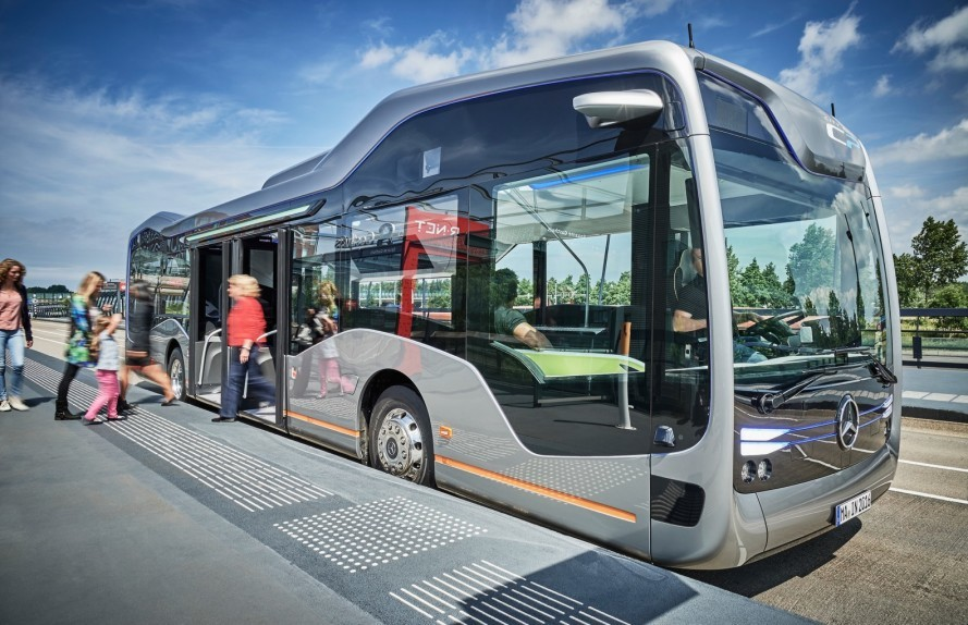 Mercedes-Benz Future Bus Self-Driving Bus