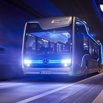 Mercedes-Benz's Semi-Autonomous Bus, self-driving bus, the future bus, mercedes benz busses
