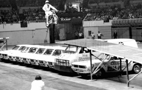 Evel Knievel at Madison Square Garden