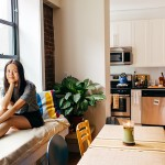 vanessa lee model, hamilton heights apartment, hamilton heights, nyc apartments