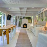 375 Brick Kiln Road, andrew geller, hamptons, sag harbor, fireplace, dining room
