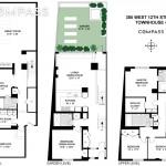 385 West 12th Street, West village, triplex, townhouse, condo, cool listings