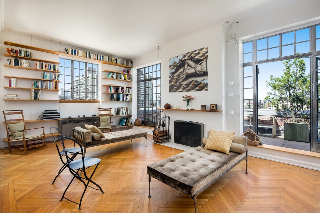 226 central park west, co-op, upper west side, living room