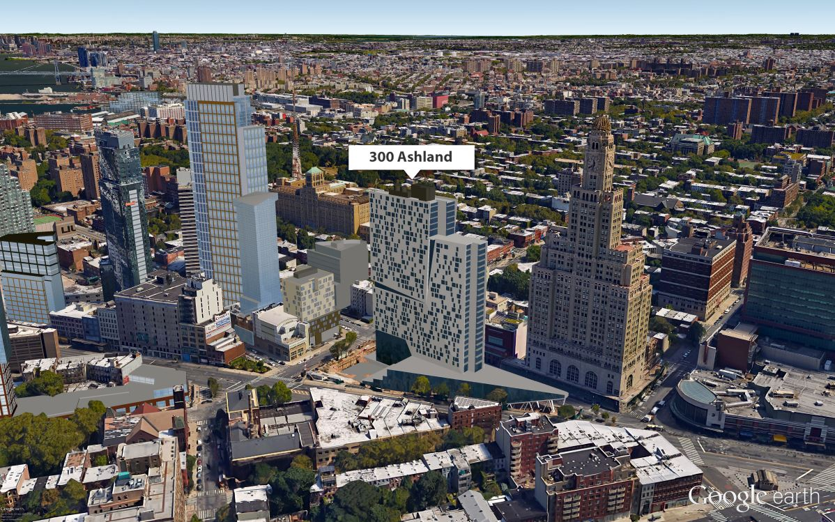 Lottery launches for 76 affordable units at 300 ashland for The ashland brooklyn