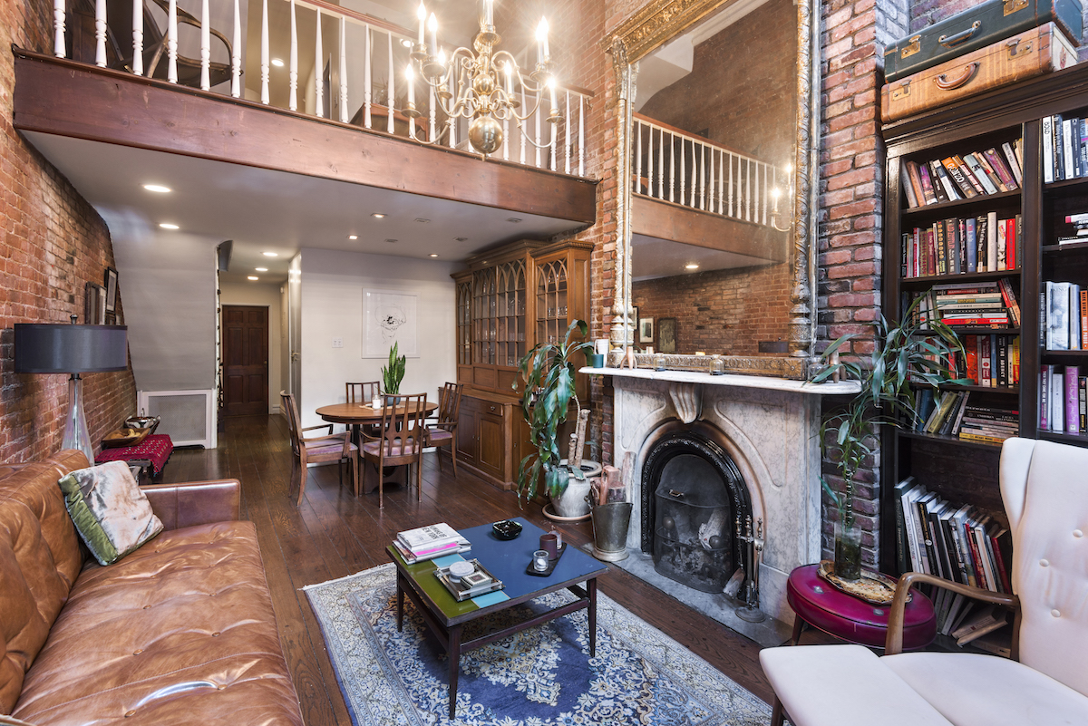this $7k/month chelsea rental gets points for townhouse charm and