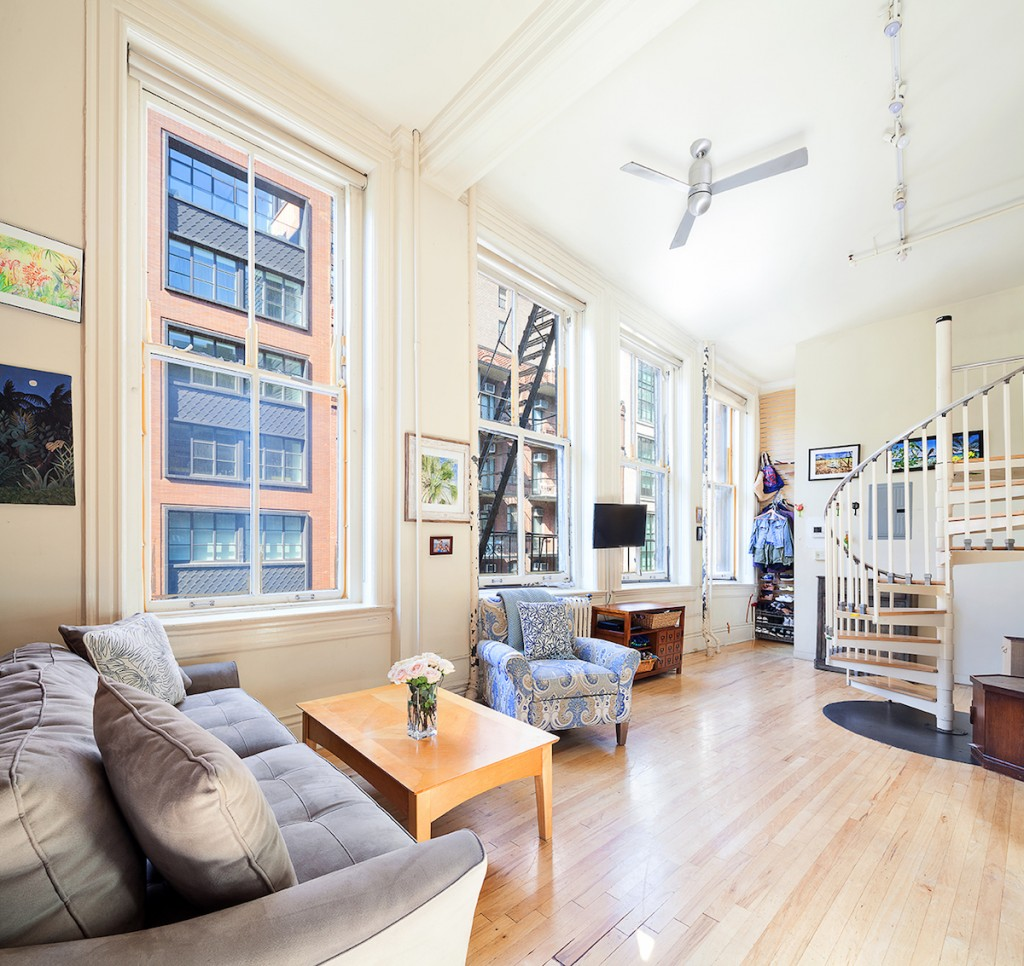For $1.2M This Bright Village Loft Is At The Crossroads Of