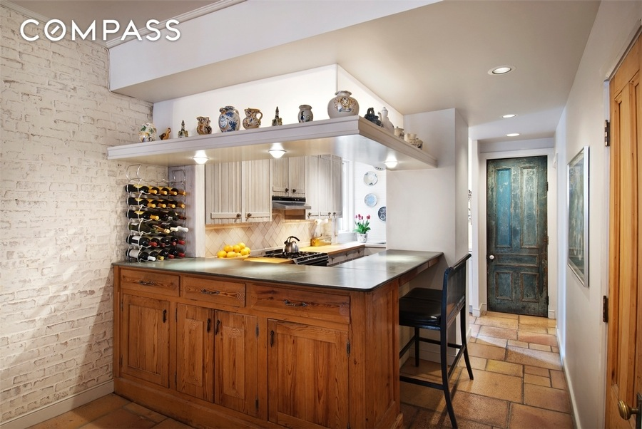 69 perry street, west village, rental, kitchen