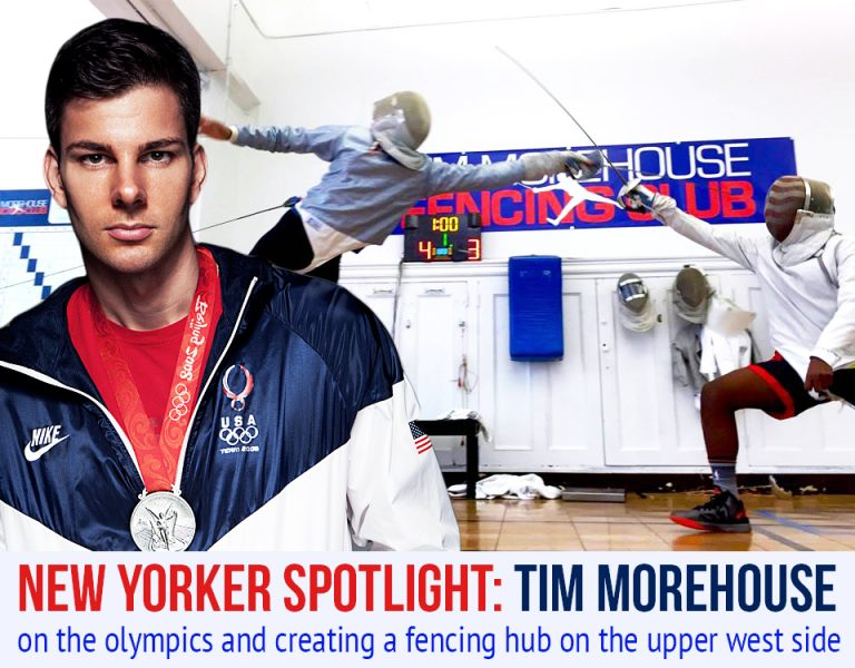 Spotlight: Olympic Silver Medalist Tim Morehouse Hopes to Create a Fencing Hub on the UWS