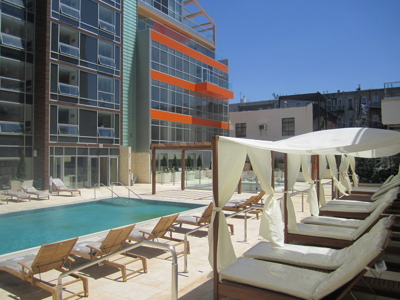 135 North 11th Street, Williamsburh, condo, pool, pool cabana