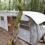 Outlier Farm trailer, Catskills farms, retro trailer, trailer rentals