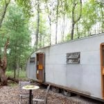 Outlier Farm trailer, Catskills farms, retro trailer, trailer rentals