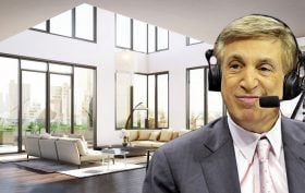 Marv Albert and 5 Franklin Place