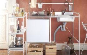 Ikea mini kitchen, SUNNERSTA, compact kitchen, Ikea 2016