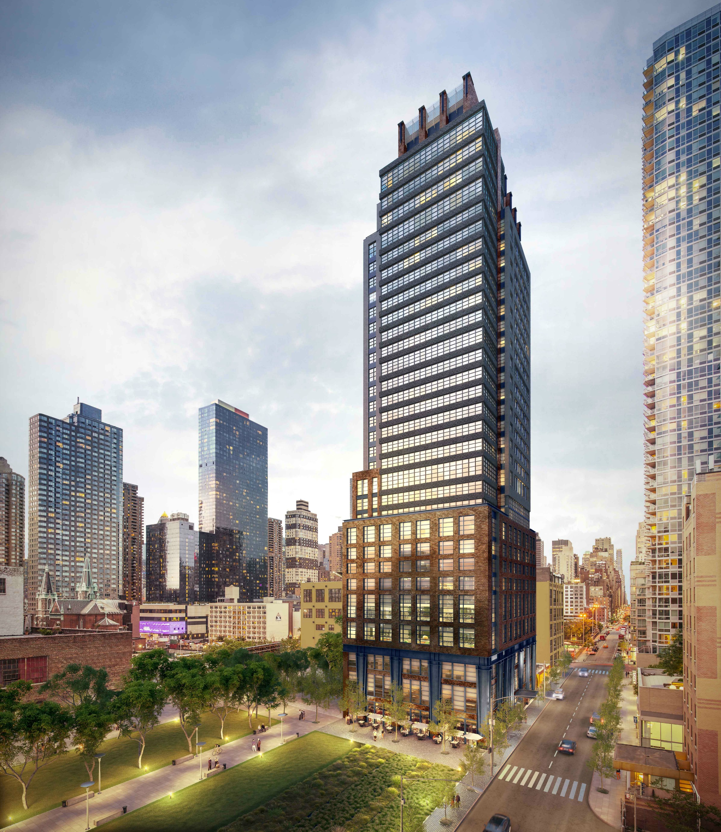 Apartments Near Nyc: Live In A Flashy New Tower Near Hudson Yards For $913