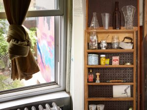 Photographer Michael Depasquale, photographer Martina Maffini, Bed-Stuy brownstone apartment, photographer apartments, historic brooklyn apartments,brooklyn brownstone