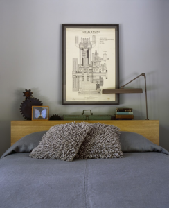 Incorporated Architecture & Design, Sixteen Doors House, Airbnb, bedroom