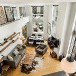 134 Powers Street, williamsburg, duplex, living room