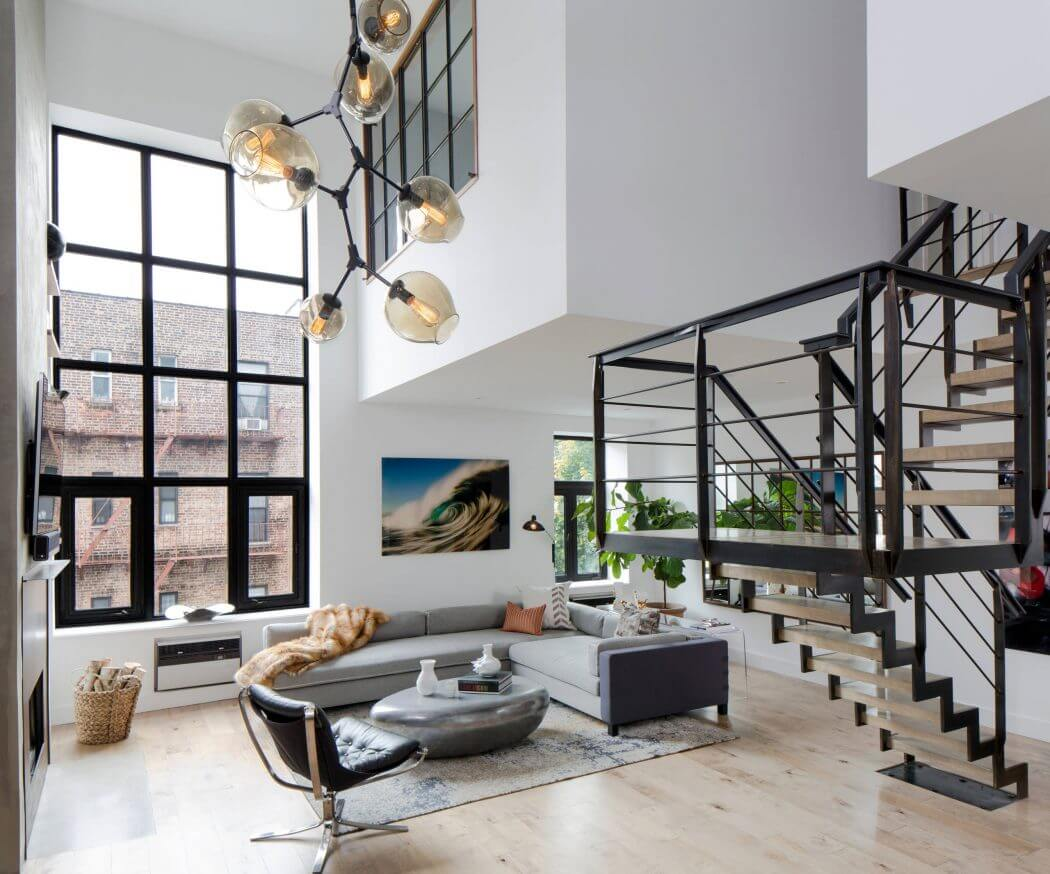 Design firm d cor aid helps a soho couple turn an outdated - Interior design firms nyc ...